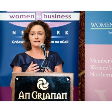 Eileen Magnier Donegal WIB and WIE Event Sept 13