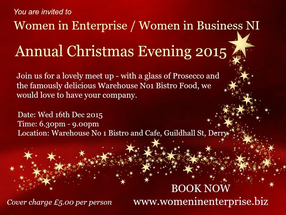 Women in Enterprise Christmas PR