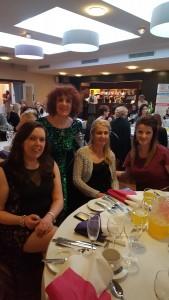 Denise Devlin, Leona O'Neill, Charlene & Marie Patton at WIE Gala 2016