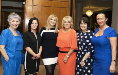 Bronagh Sharkey, Lesley O'Hanlon WIBNI, Samantha Kelly Keynote Speaker, Cathy Moran WIE Co-Chair, Patricia Greene, Nicole McElhinney